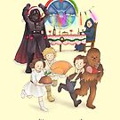 Curse those thieving, silent Jedi Knights (and on Christmas too!) by AliciaMB
