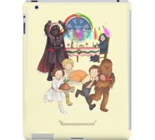 Curse those thieving, silent Jedi Knights (and on Christmas too!) iPad Case/Skin