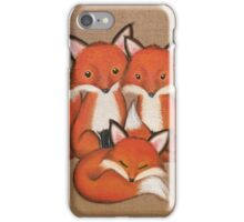 Foxy Family iPhone Case/Skin
