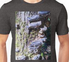 Redwood Forest Mushrooms Unisex T-Shirt