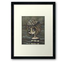Peppe- pirate girl Framed Print