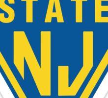 POLICE STATE (NJ) Sticker