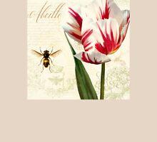 Natural History Sketchbook I Botanical study bumble bee, tulip T-Shirt