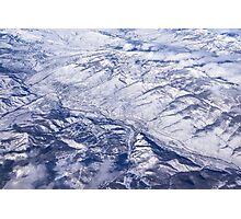 Mountain Crunch Photographic Print