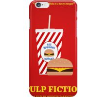 Pulp Fiction film poster iPhone Case/Skin