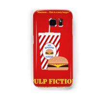 Pulp Fiction film poster Samsung Galaxy Case/Skin