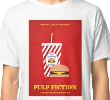 Pulp Fiction film poster Classic T-Shirt
