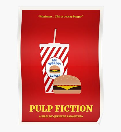 Pulp Fiction film poster Poster