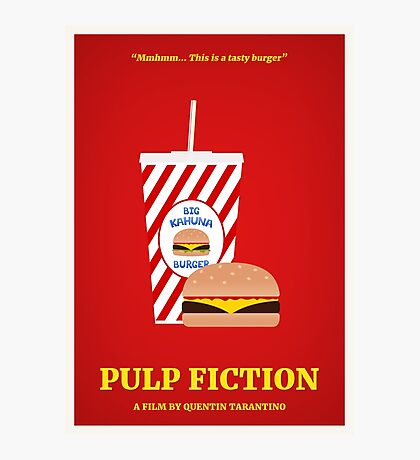 Pulp Fiction film poster Photographic Print