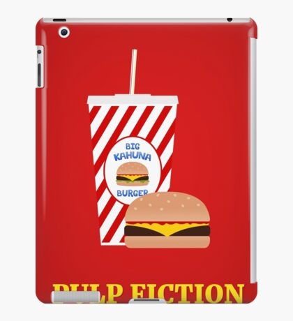 Pulp Fiction film poster iPad Case/Skin