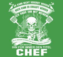 Chef T-shirt ,chef dad, chef funny chefs rock, chef penguin, chef pirate, chef ninja,  by tommyendy
