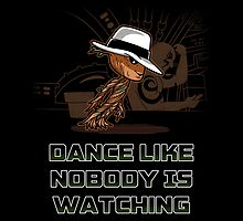 dance like nobody is watching  by BoggsNicolasArt