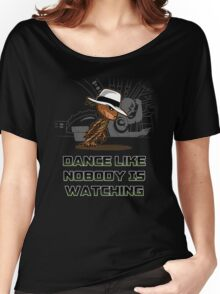 dance like nobody is watching  Women's Relaxed Fit T-Shirt