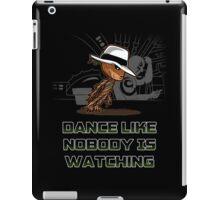 dance like nobody is watching  iPad Case/Skin