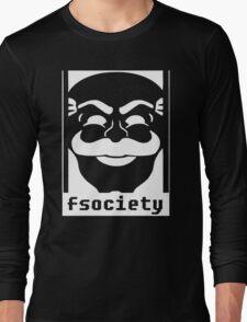 Mr. Robot TV Series Banksy Fsociety Long Sleeve T-Shirt