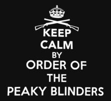 NEW PEAKY BLINDERS Inspired Kids Tee