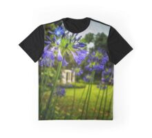 Agapanthus in the Garden Graphic T-Shirt