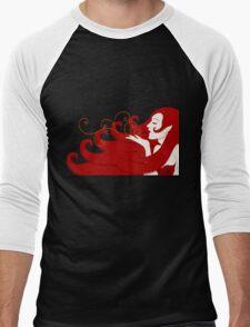 Breathless Elf Men's Baseball ¾ T-Shirt
