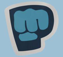 PewDiePie the blue brofist One Piece - Short Sleeve