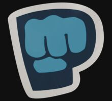 PewDiePie the blue brofist Kids Tee