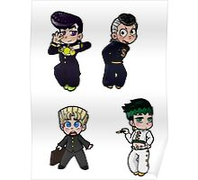Diamond is Unbreakable Chibi collection Poster
