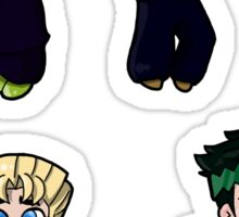 Diamond is Unbreakable Chibi collection Sticker