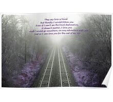 I will blindly follow you Poster