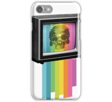 Television Melt iPhone Case/Skin