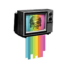 Television Melt Photographic Print