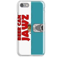 BEER : BEER CAN JAWZ iPhone Case/Skin