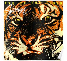 Eye of the tiger Album cover shirt Poster