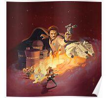 Lando Red Poster