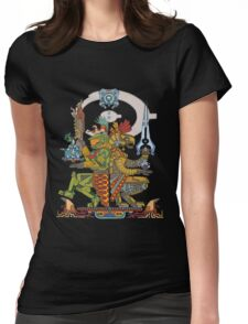 "Halo Inspired Maya design ""Gods Among""  Womens Fitted T-Shirt"