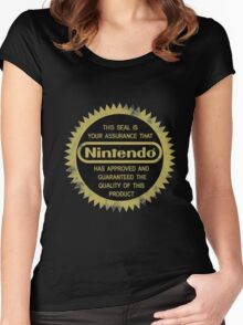Nintendo Seal of Quality Women's Fitted Scoop T-Shirt