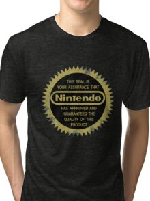 Nintendo Seal of Quality Tri-blend T-Shirt
