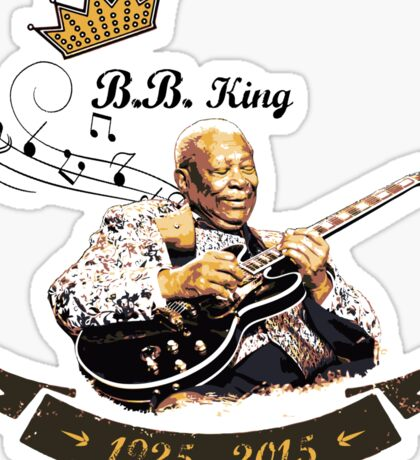 B.B. King - Rest In Peace Sticker