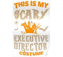 This Is My Scary Executive Director Costume  - Tshirts & Accessories Poster