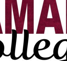Ramapo College Sticker