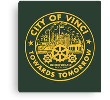 True Detective - City of Vinci logo or Canvas Print