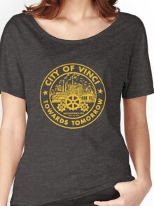 True Detective - City of Vinci logo or Women's Relaxed Fit T-Shirt