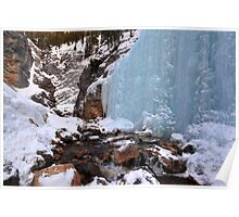 King Creek icefalls Poster
