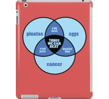 Cancer Awareness funny nerd geek geeky iPad Case/Skin