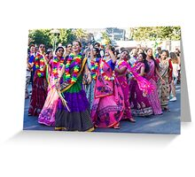 A whirl of color Greeting Card