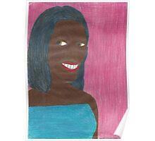 Random Black Girl Poster