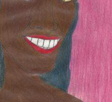 Random Black Girl Sticker