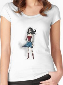 Gothic Wonder Women's Fitted Scoop T-Shirt