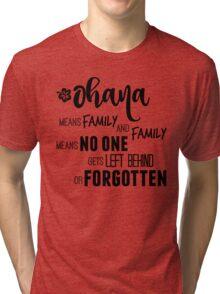 Ohana Tri-blend T-Shirt