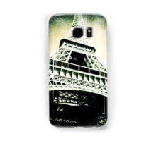 Eiffel Tower in Green Samsung Galaxy Case/Skin