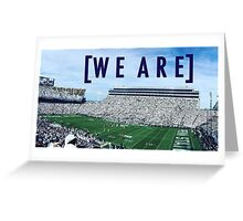 penn state; we are Greeting Card