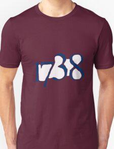 1738 - navy T-Shirt